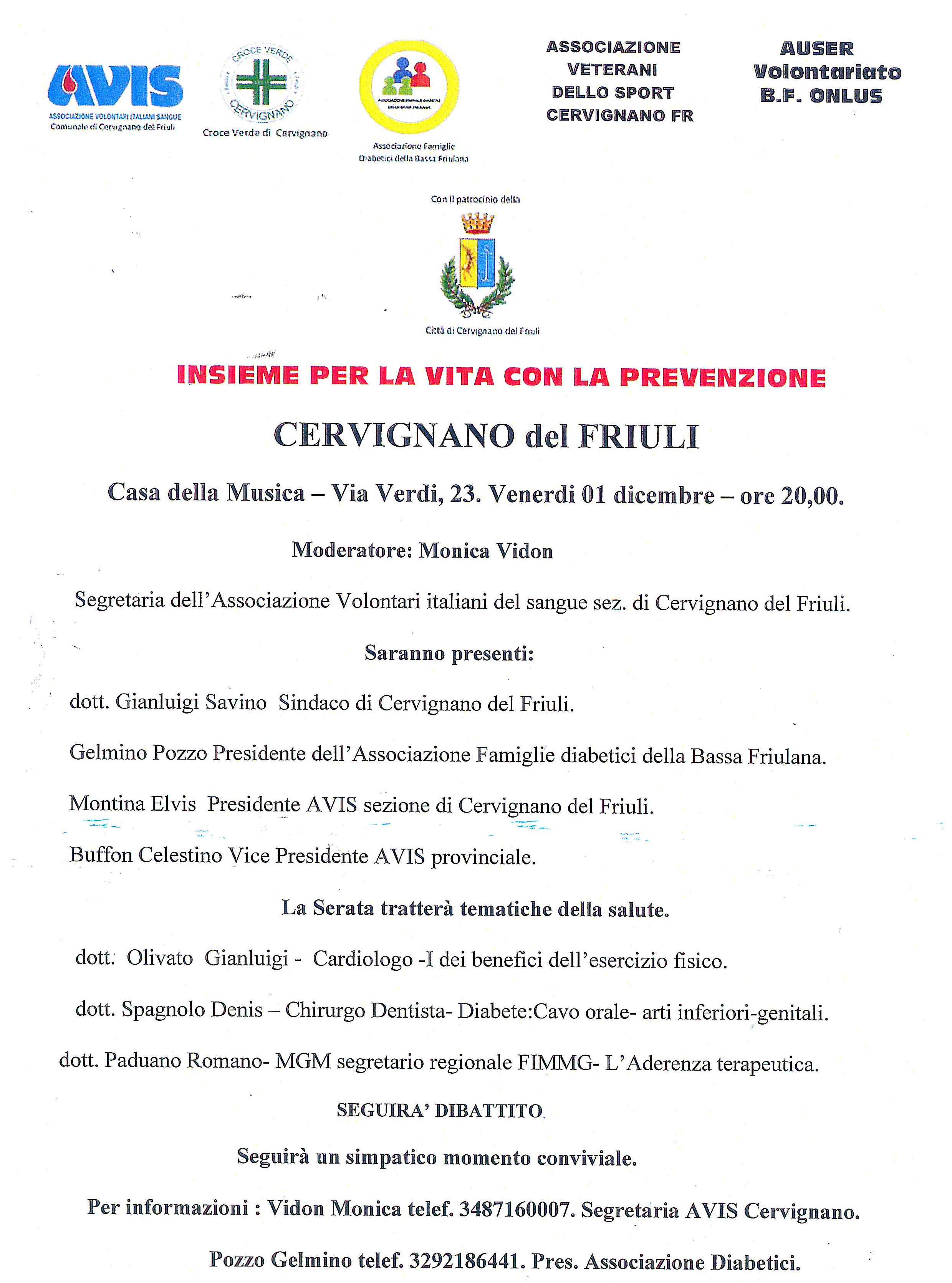 Avis regionale friuli venezia giulia associazione volontari italiani sangue - Contributo regionale fvg prima casa 2017 ...